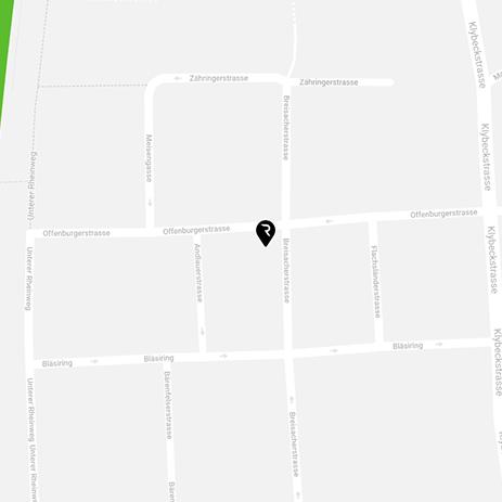 Rebelle Basel Map